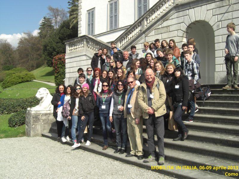 mobilità in italia progetto comenius minoprio