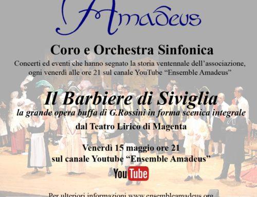 Quarto appuntamento con la stagione concertistica del Coro e Orchestra Sinfonica Amadeus