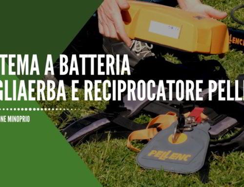 Sistema a batteria – tagliaerba e reciprocatore Pellenc