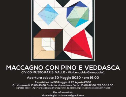 Mostra del Circolo degli artisti di Varese – Maccagno con Pino e Veddasca