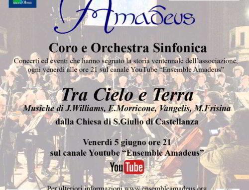 """Venerdì 12 giugno ultimo appuntamento de """"I grandi concerti di Amadeus"""